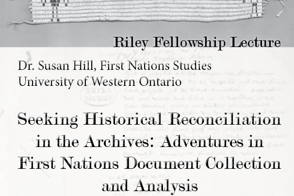 Dr. Susan Hill – Seeking Historical Reconciliation in the Archives