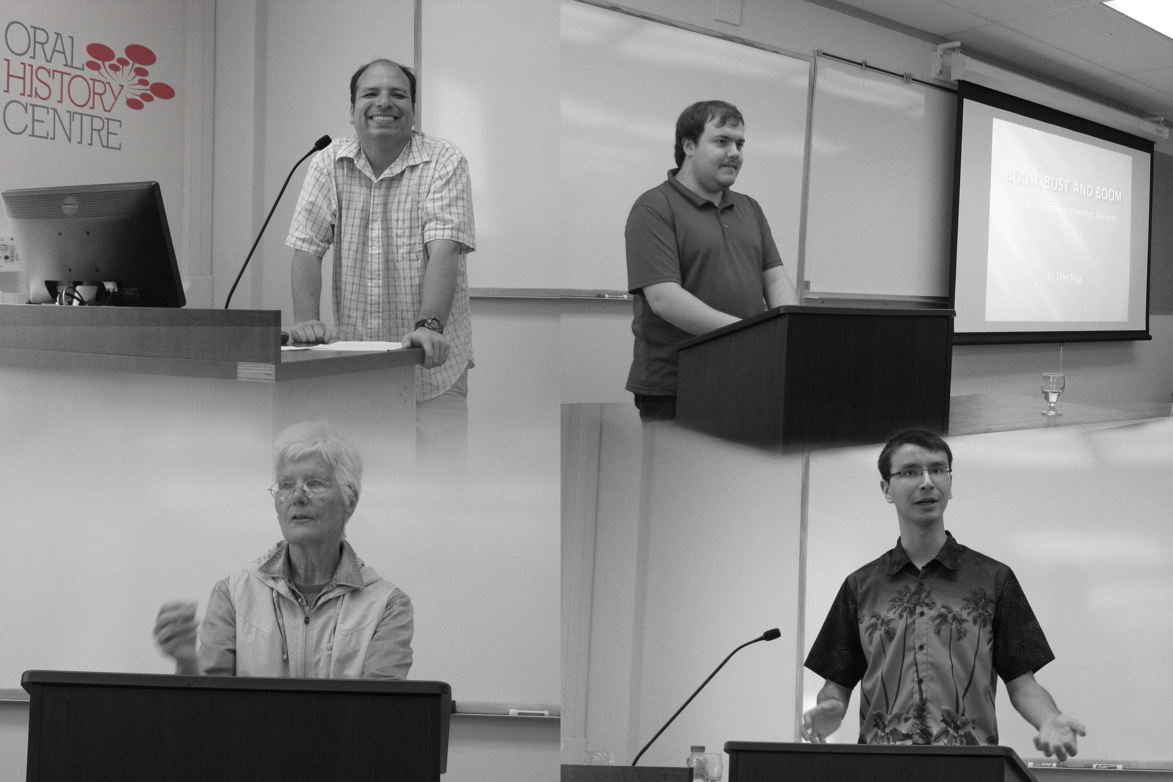 Oral History Student Conference, 2014