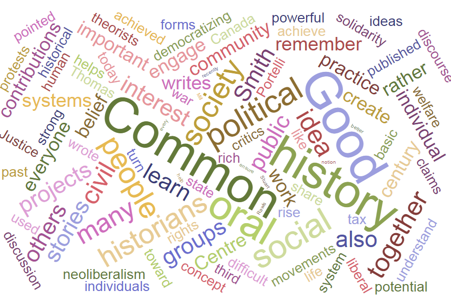 Oral History and the Common Good
