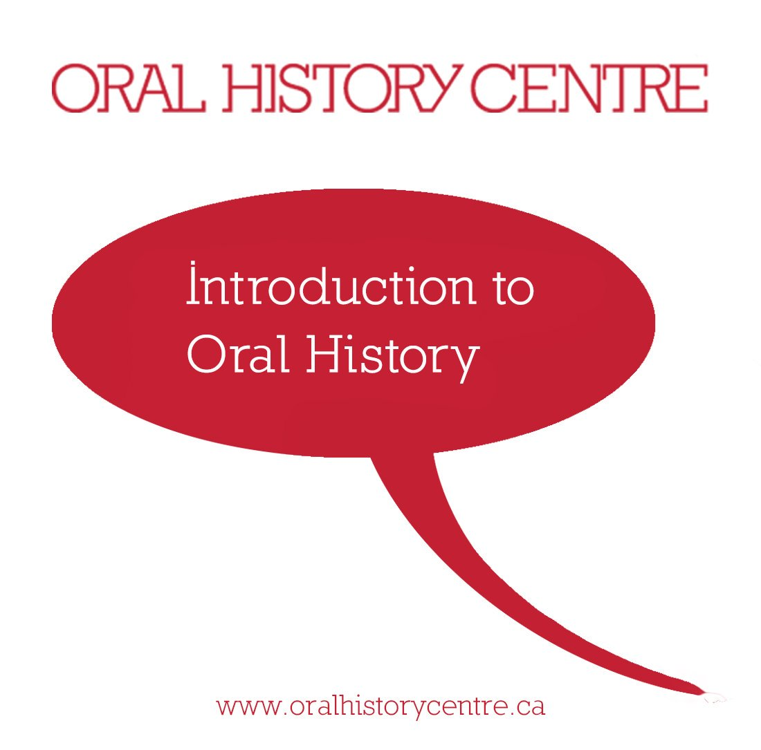 Link to Introduction to Oral History workshop Description