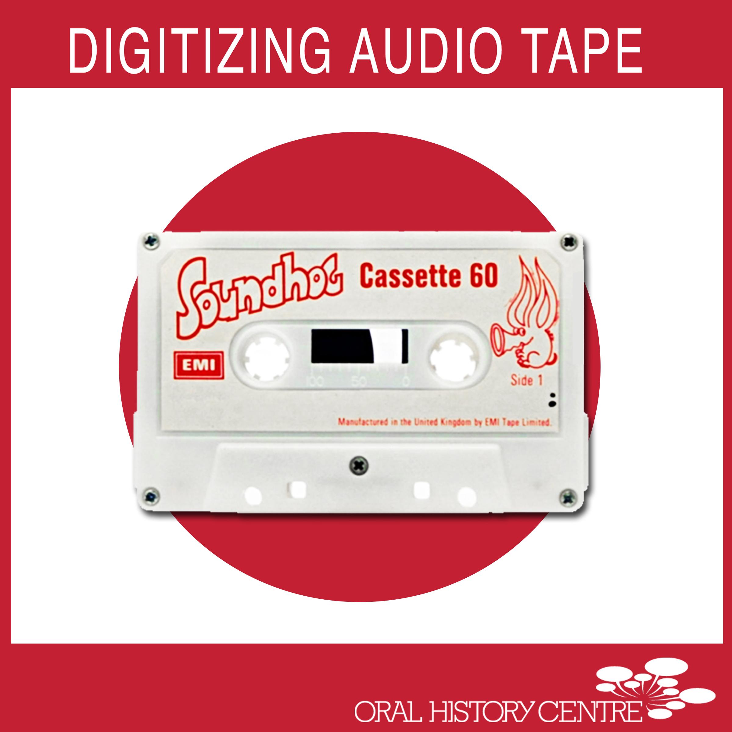 Link to Digitizing Audio Tape Workshop Description