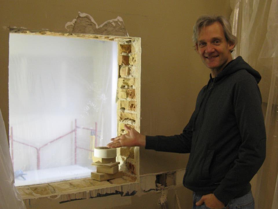 OHC Renovations - Studio Passthrough Window.