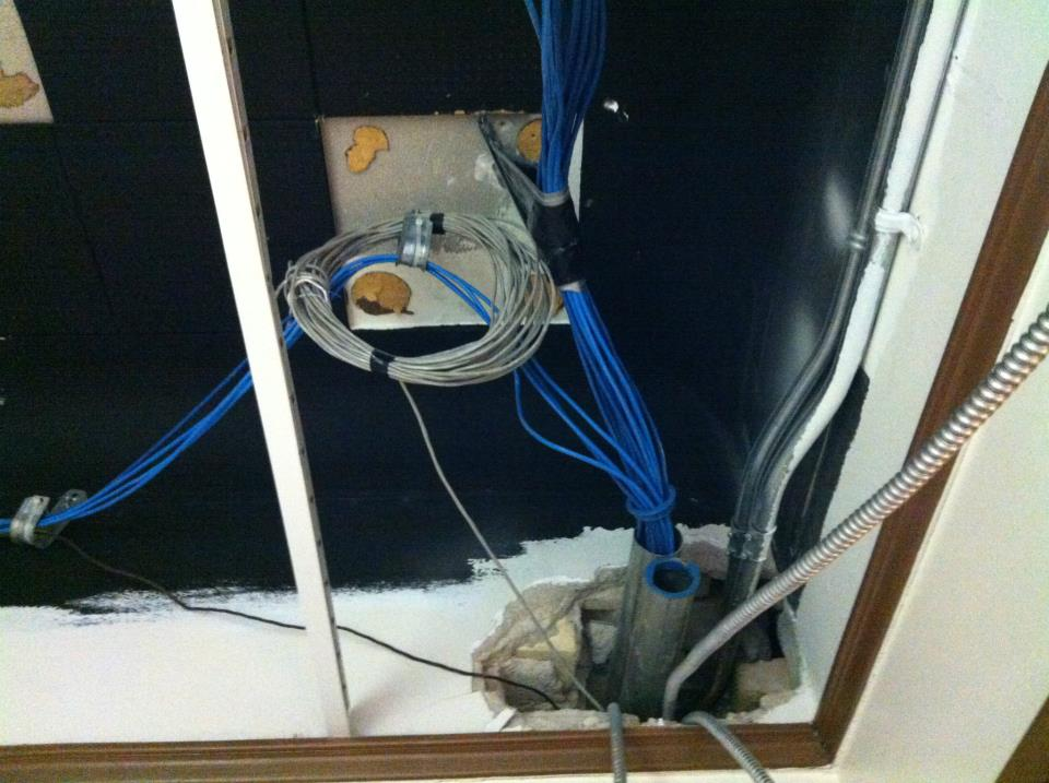 OHC Renovations - Ethernet Cables